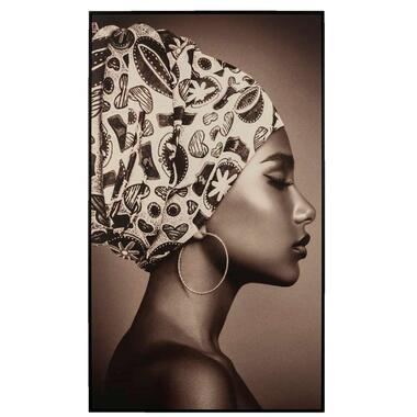 Schilderij Vrouw 118x70 cm - Leen Bakker