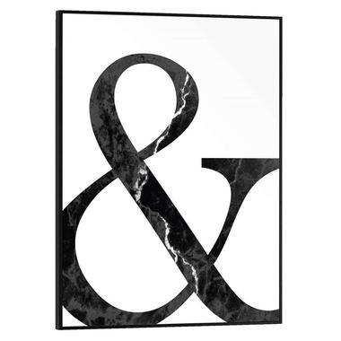 Poster met lijst & Teken - 40x30 cm - Leen Bakker