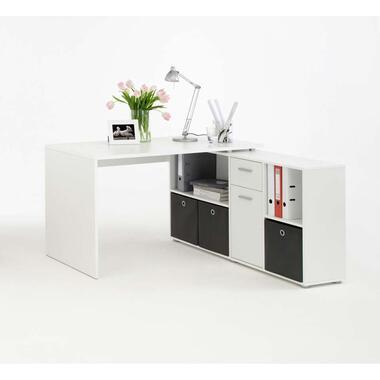 Bureau Lex - wit - 66,5x136x74 cm - Leen Bakker