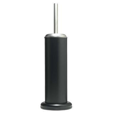 Sealskin toiletborstelgarnituur Acero - zwart - 41x12,6x12,6 cm - Leen Bakker