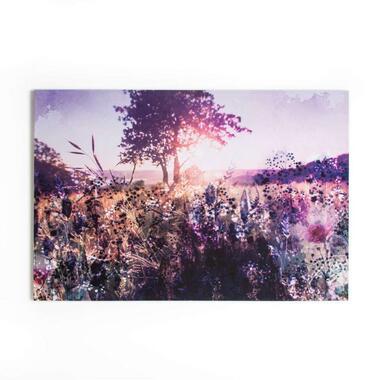 Art for the Home canvas Layered Landscape - multikleur - 120x80 cm