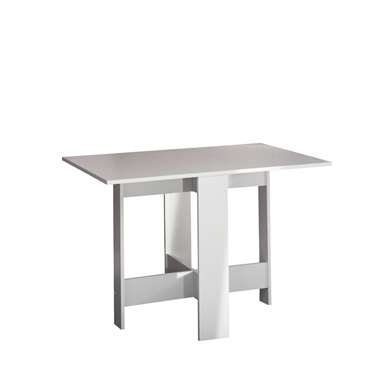 Symbiosis inklapbare tafel Laugen - wit - 73,4x28x76 cm - Leen Bakker