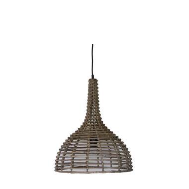 HSM Collection hanglamp - rotan - naturel - 43x52