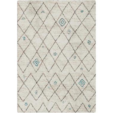 Vloerkleed Narni - crème - 120x170 cm - Leen Bakker