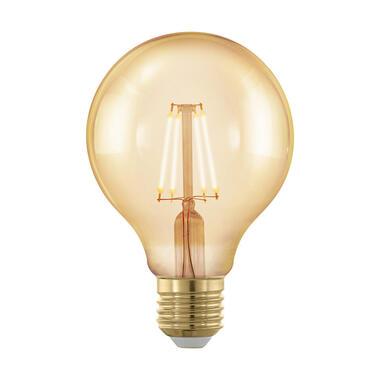 EGLO Golden Age dimbare LED globelamp - 8,0 cm - Leen Bakker