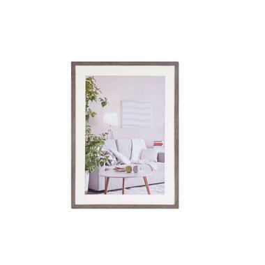 Henzo fotolijst Modern - donkergrijs - 50x70 cm - Leen Bakker