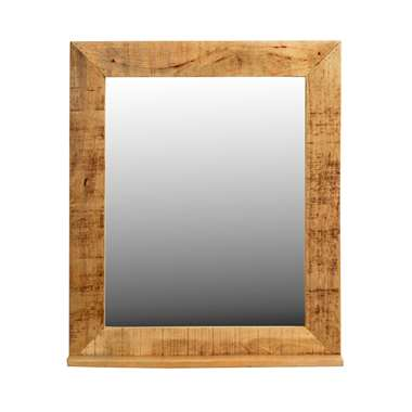 Spiegel Guus - bruin - 80x67x3 cm - Leen Bakker