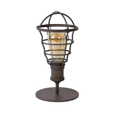 Lucide tafellamp Zych - roest bruin - �14 cm - Leen Bakker