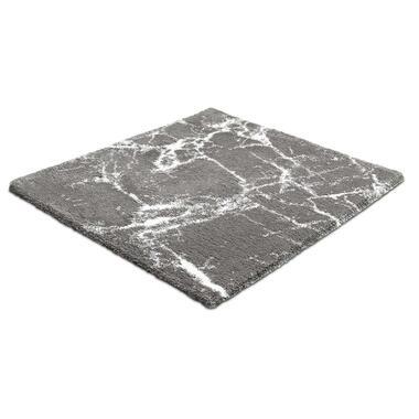 Kleine Wolke badmat Como - lichtgrijs - 60x60 cm