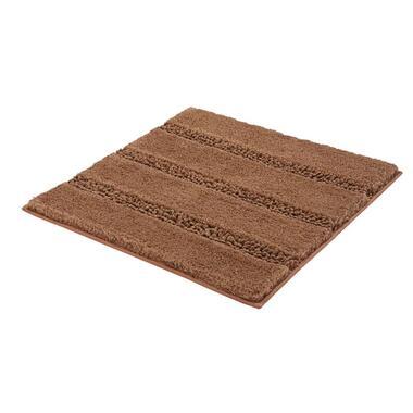 Kleine Wolke badmat Monrovia - bruin - 60x60 cm