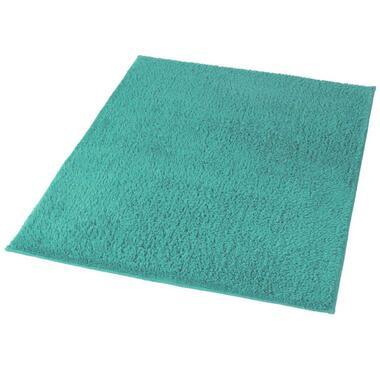 Kleine Wolke badmat Kansas - turquoise - 60x90 cm