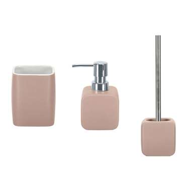Kleine Wolke badkamerset Cubic - roze