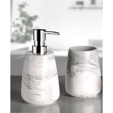 Kleine Wolke badkamerset Marble - antraciet