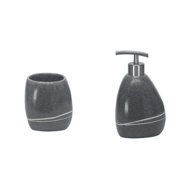 Kleine Wolke badkamerset Stones - grijs