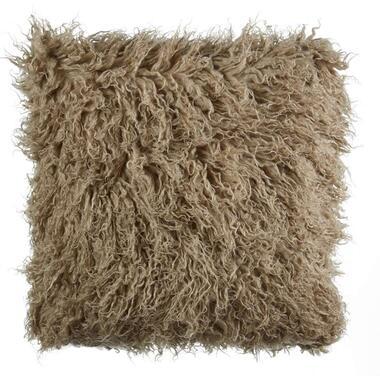 KAAT Amsterdam sierkussen Mink zand 45x45 cm Leen Bakker