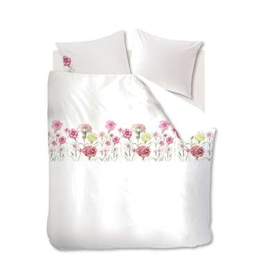 Marjolein Bastin dekbedovertrek Romantic - roze - 240x200/220 cm