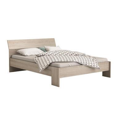 Demeyere bed Pricy - eikenkleur - 140x190/200 cm - Leen Bakker