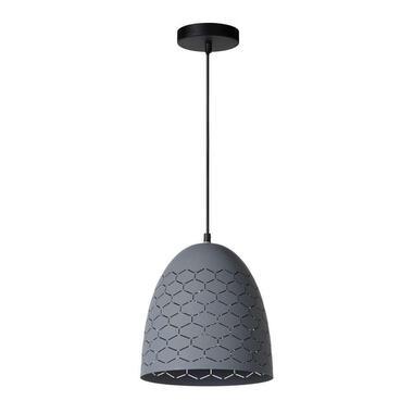 Lucide hanglamp Galla - grijs - Ø25 cm - Leen Bakker