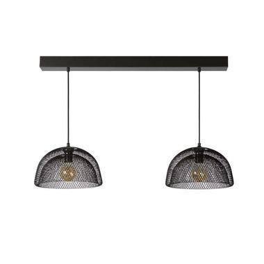 Lucide hanglamp Mesh - grijs - Leen Bakker
