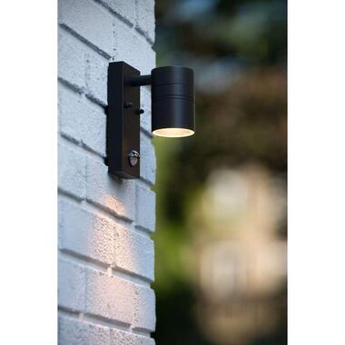 Lucide LED wandspot buiten ARNE IP44 downlight - zwart - 6,3x12x16,3 cm - Leen Bakker