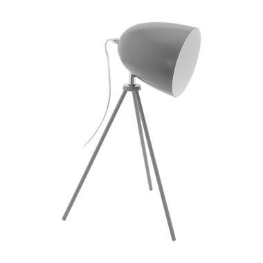EGLO tafellamp Dundee - grijs - Leen Bakker