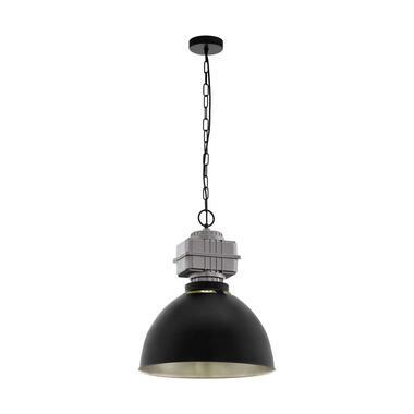 EGLO hanglamp Rockingham - zwart/grijs - Leen Bakker