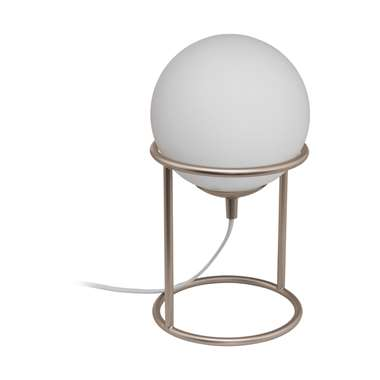 EGLO tafellamp Castellato 1 - champagnekleur/wit - Leen Bakker