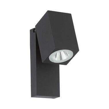 EGLO richtbare wandlamp Sakeda LED - antraciet - L