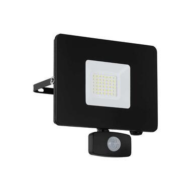 EGLO sensorwandlamp Faedo 3 LED 30W - zwart - Leen Bakker