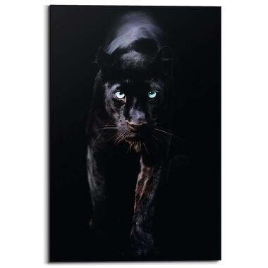 Wandpaneel Zwarte Panter 1 - zwart - 60x90cm - Leen Bakker