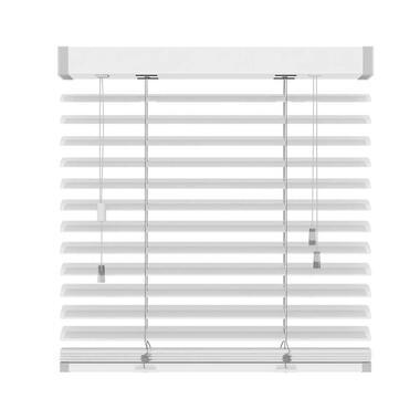 Jaloezie aluminium 50 mm - mat wit - 160x180 cm - Leen Bakker