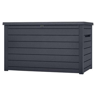 Keter opbergbox Ontario 870L - grijs - 147x83x86 cm - Leen Bakker