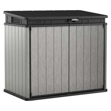 Keter opbergbox Elite-Store - grijs - 141x82x123,5 cm - Leen Bakker