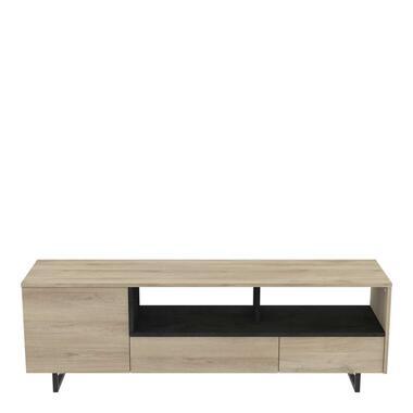 Demeyere tv-meubel Harvey - bruin - Leen Bakker