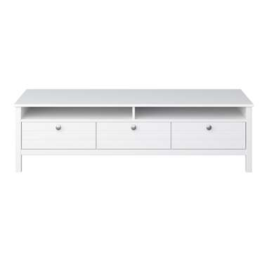 TV-meubel New Jersey - wit - 40x140x45 cm - Leen Bakker
