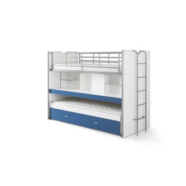 Vipack hoogslaper Bonny - blauw - 221,5x101,5x161 cm - Leen Bakker