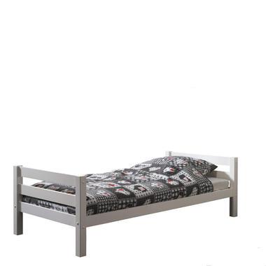 Vipack bed Pino - wit - 209,4x98,6x63 cm - Leen Bakker