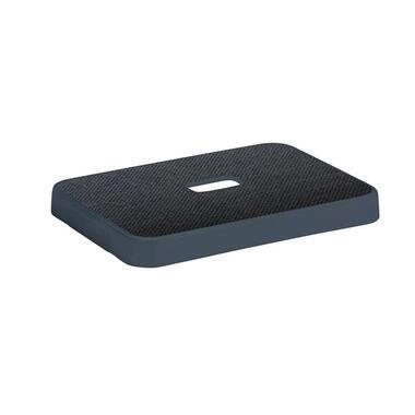 Sigma home opbergdeksel 13+25 liter - donker blauwgrijs - 3,4x24,2x34,2 cm - Leen Bakker