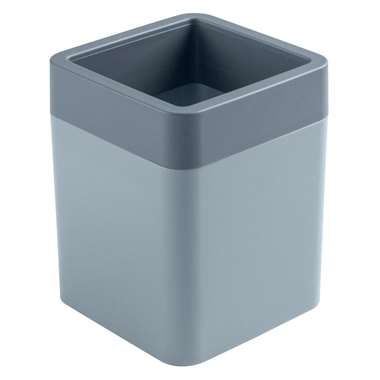 Sigma home organizer 0,6 liter - blauwgrijs/donkerblauw - 11,4x9x9 cm - Leen Bakker