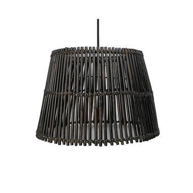 HSM Collection hanglamp Ajay - black wash - Ø33 cm - Leen Bakker