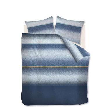 At Home by Beddinghouse dekbedovertrek Camden – blauw – 200×200/220 cm – Leen Bakker