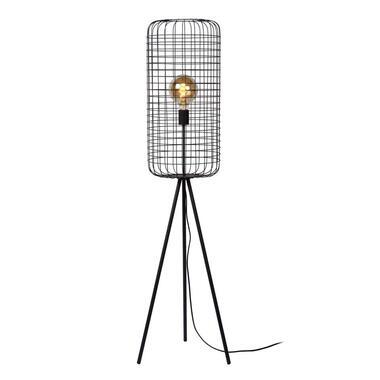 Lucide vloerlamp Esmee - zwart - Ø31x145 cm - Leen Bakker