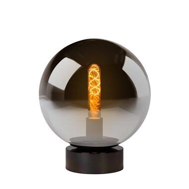 Lucide tafellamp Jorit - grijs - 25x30 cm - Leen Bakker
