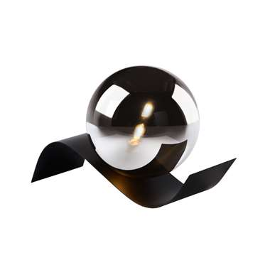 Lucide tafellamp Yoni - zwart - 30x12x12 cm - Leen Bakker