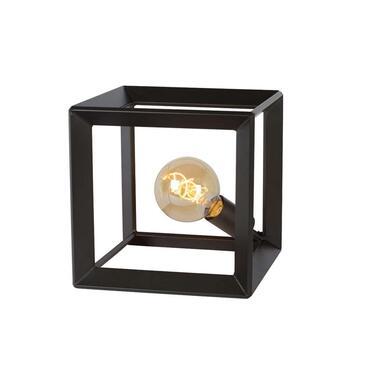 Lucide tafellamp Thor - grijs - 25x25x25 cm - Leen Bakker