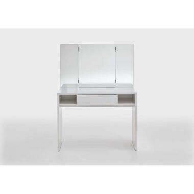 Kaptafel Febe - wit - 100x41,4x135,6 cm - Leen Bakker