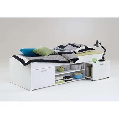 Bed Wilton - wit - 90x200 cm - Leen Bakker
