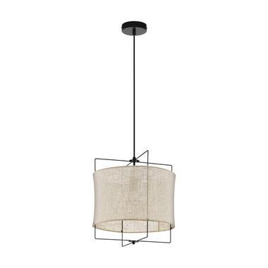 EGLO hanglamp Bridekirk 40 cm - zwart - Leen Bakke