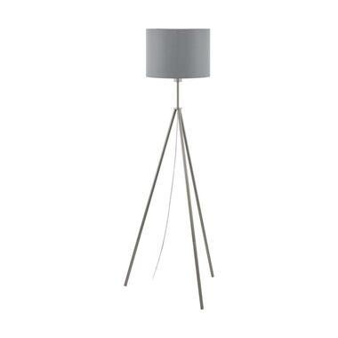 Eglo - Vloerlamp Scigliati - nikkel mat - 144x34cm - Leen Bakker