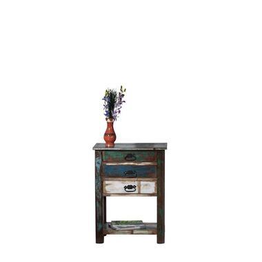 Wandkast Cevio - multikleur - 79x60x32 cm - Leen Bakker